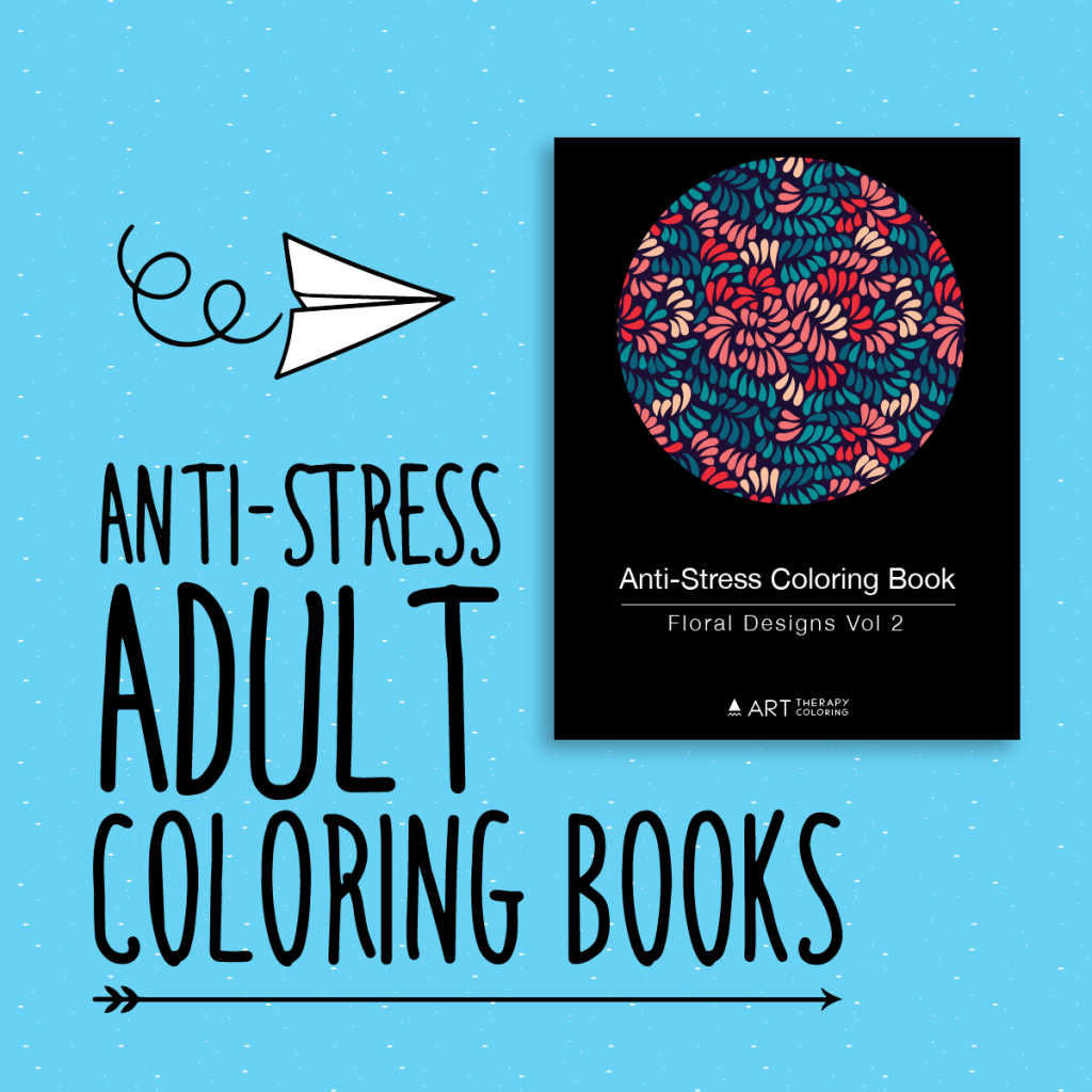 anti stress coloring books