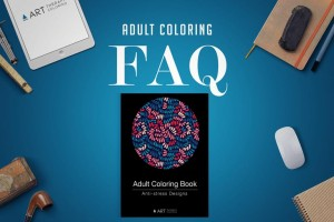 Anti Stress Adult coloring Books