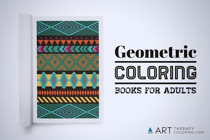 Adult geometric coloring books