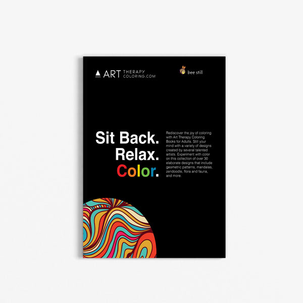 Anti-Stress Coloring Book Stress Relieving Designs Vol 3 back cover