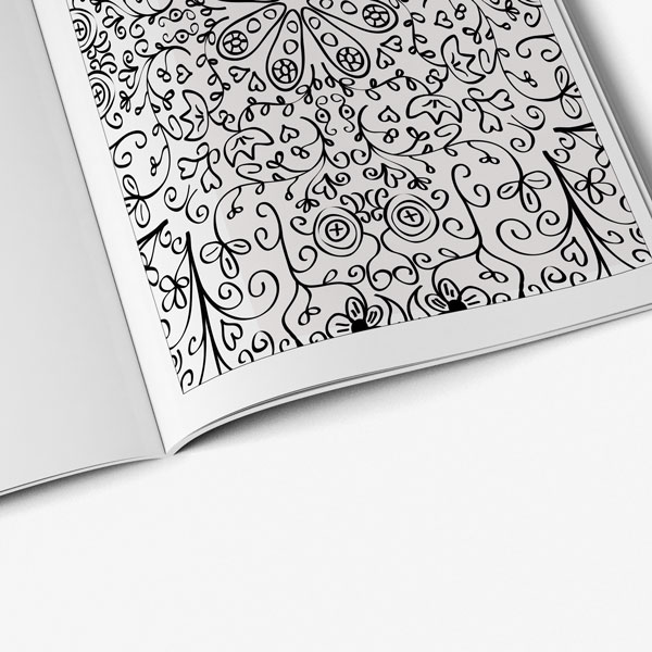 anti-stress coanti-stress coloring book floral designs vol 2 pageloring book floral designs vol 2-7