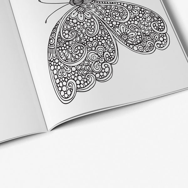 butterfly designs anti stress vol 2 page-4