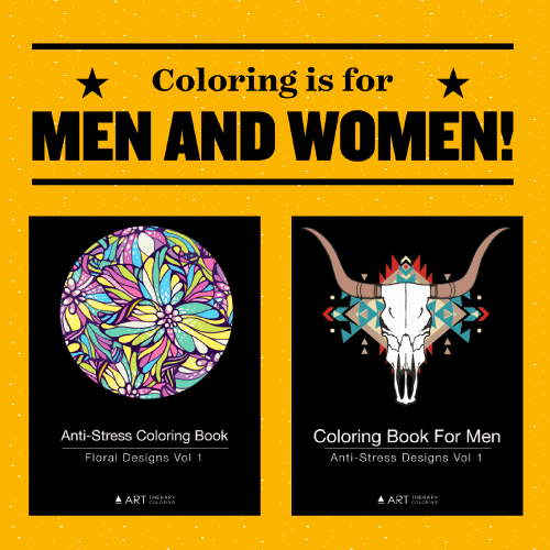 coloring is for men and women