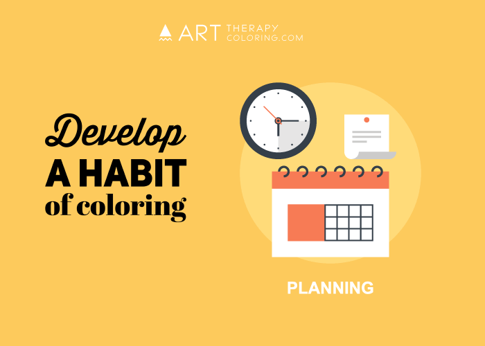 develop the habit of coloring image