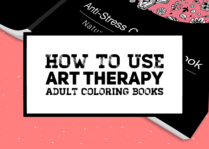how to use art therapy coloring books