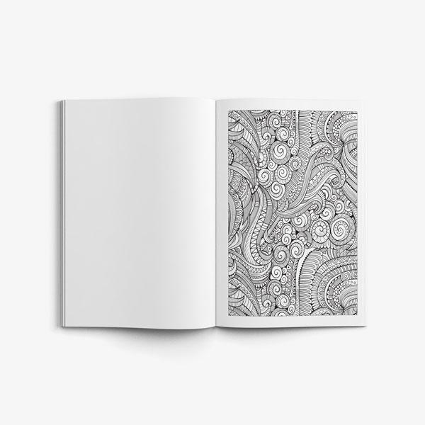 Zen Doodle Designs Anti Stress Vol 2 Page