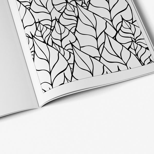 Anti Stress Coloring Book Nature Designs Vol 2 -7