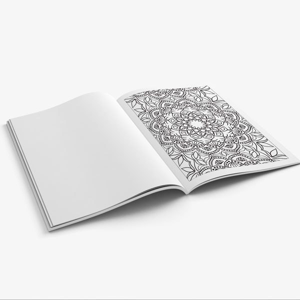 Anti Stress Coloring Book Nature Designs Vol 2 -9
