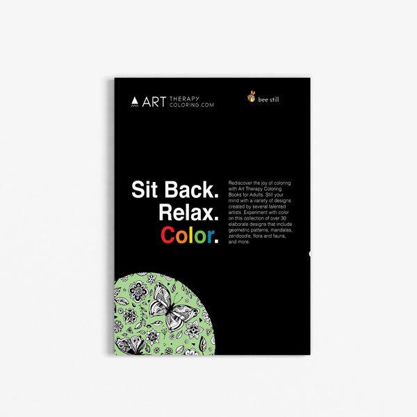 Anti Stress Coloring Book Nature Designs Vol 3 -1