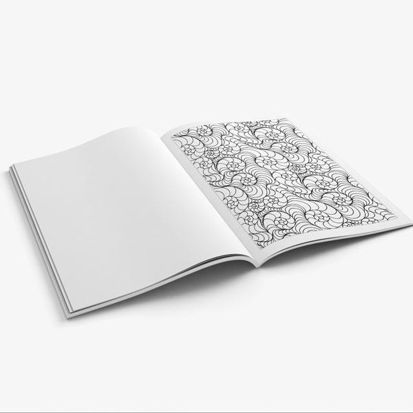 Anti Stress Coloring Book Nature Designs Vol 3 -9