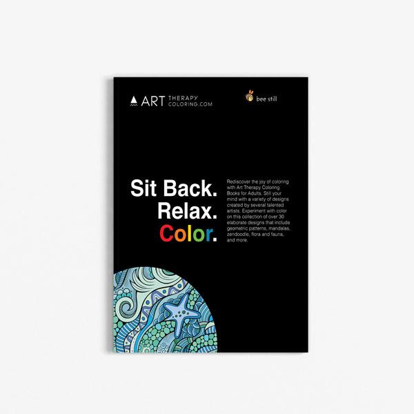 Anti Stress Coloring Book Ocean Designs Vol 1-1