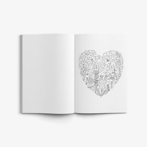 Anti Stress Coloring Book Owl Designs Vol 1-6
