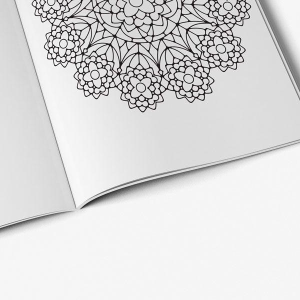 Anti Stress Coloring Book Owl Designs Vol 1-7