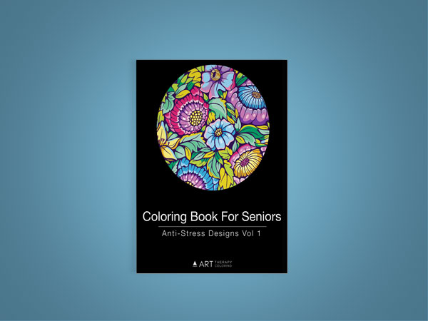 Coloring book for seniors vol 1-10