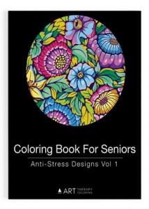 Coloring book for seniors vol 1