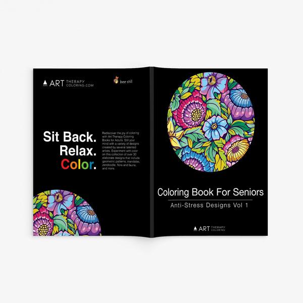 Coloring book for seniors vol 1-2