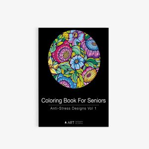 Coloring book for seniors vol 1