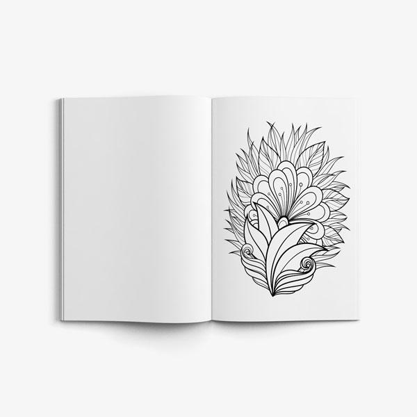 Coloring book for seniors vol 1-5
