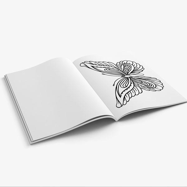 Coloring book for seniors vol 1-9