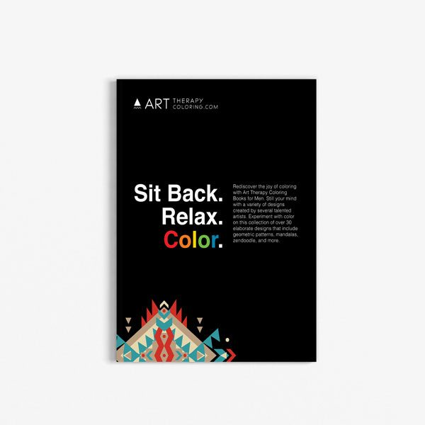 coloring book for men anti stress designs vol 1 -1