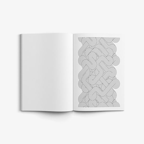 coloring book for men anti stress designs vol 1 -6