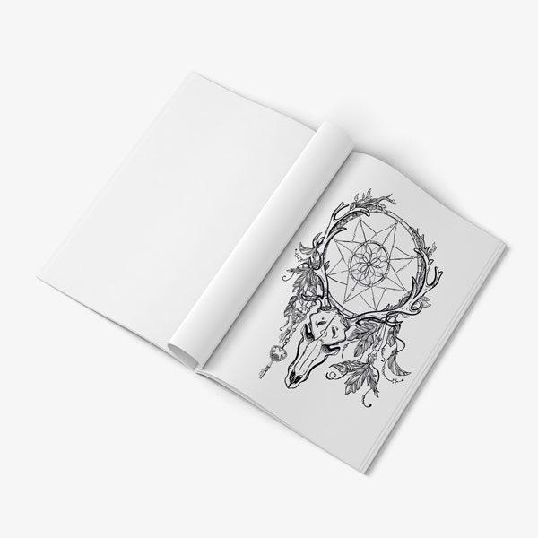 coloring book for men anti stress designs vol 1 -8