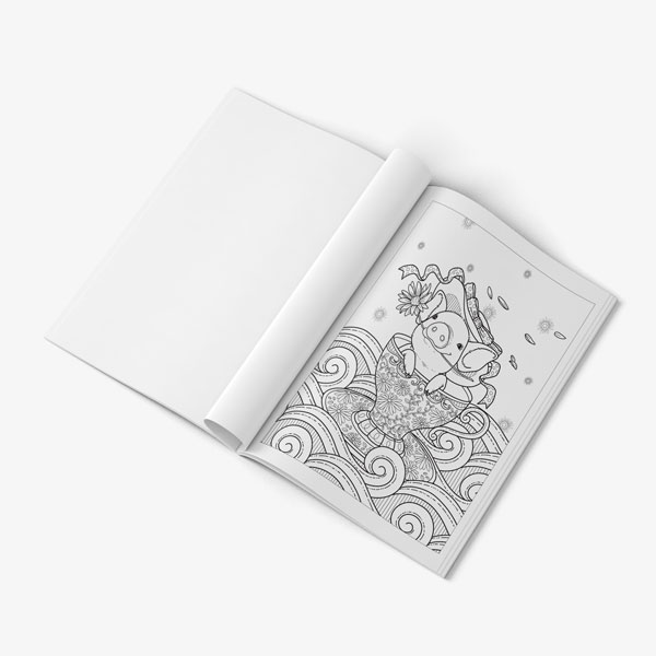 coloring book for teens anti stress designs vol 1 -15