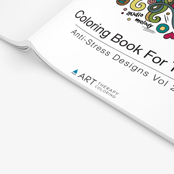 coloring book for teens anti stress designs vol 2 -2