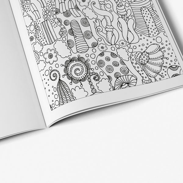 coloring book for teens anti stress designs vol 2 -5