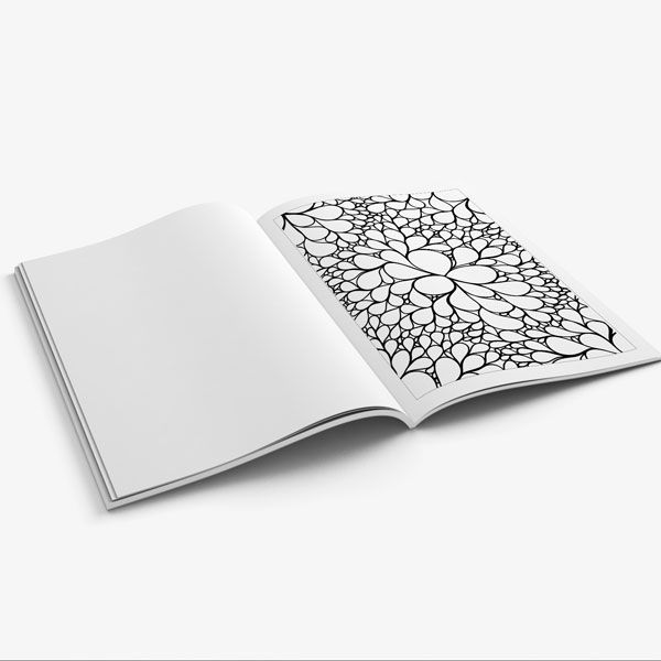 Coloring book for teens anti stress designs vol 2 7