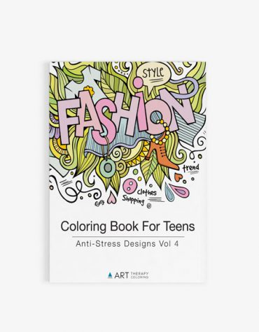 coloring book for teens anti stress designs vol 4-17