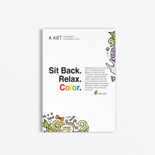 coloring book for teens anti stress designs vol 4
