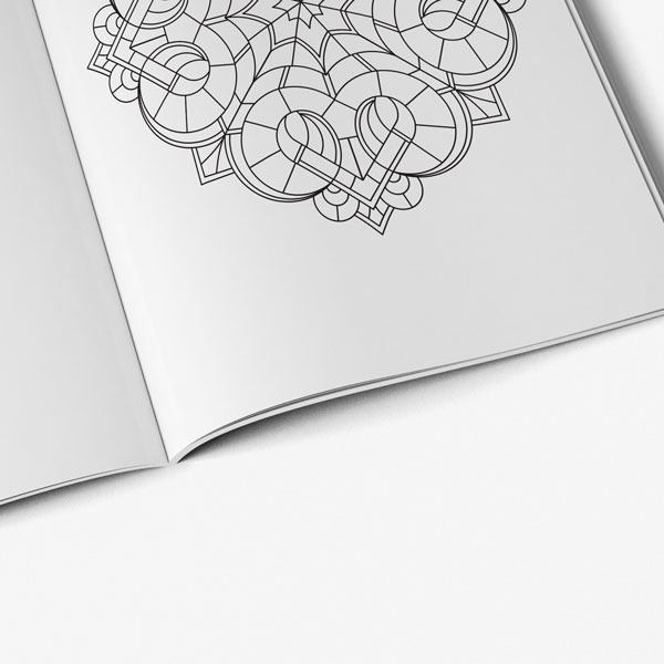 coloring book for teens anti stress designs vol 5-7