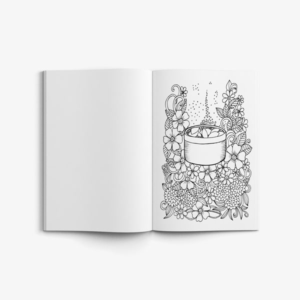 coloring book for teens anti stress designs vol 7-6