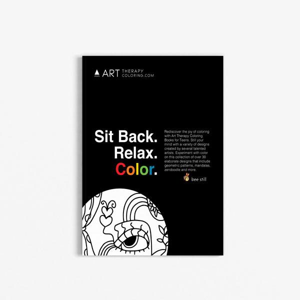 coloring book for teens anti stress designs vol 8-1