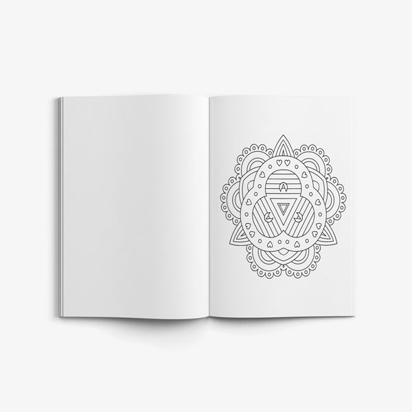 coloring book for teens anti stress designs vol 8-6