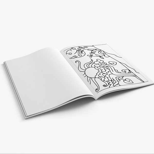 coloring book for teens anti stress designs vol 8-9