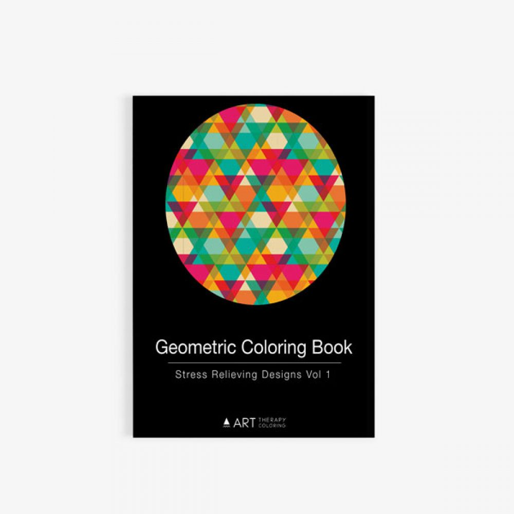 Geometric Coloring Book: Stress Relieving Designs Vol 1 - Art ...