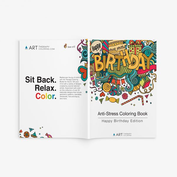 happy bday anti-stress coloring book -4