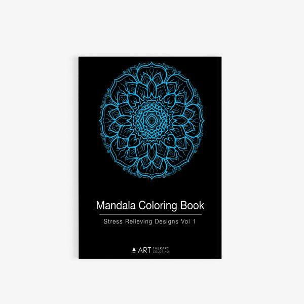 mandala coloring book stress relieving designs vol 1