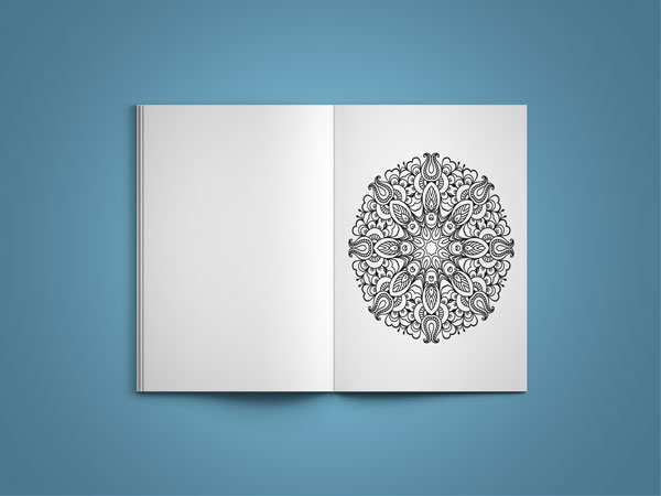 mandala coloring book vol 1 page