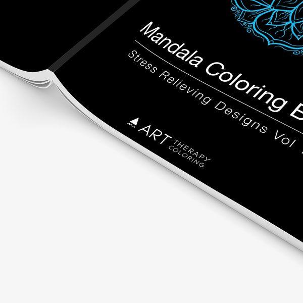 mandala coloring book stress relieving designs vol 1 -4