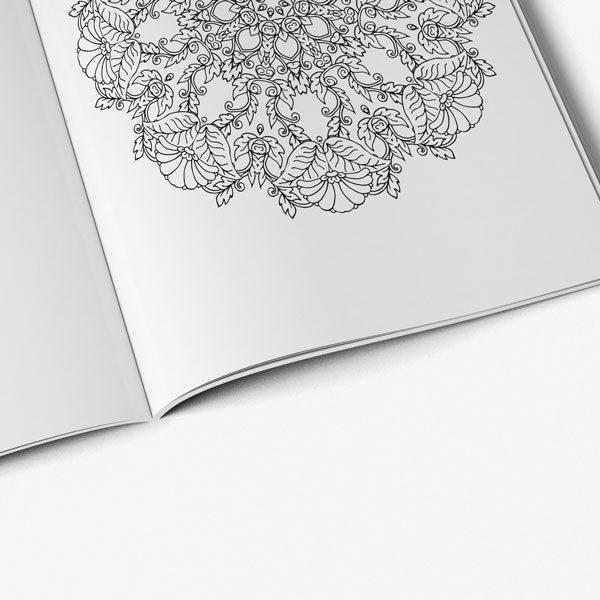 mandala coloring book stress relieving designs vol 1 -7