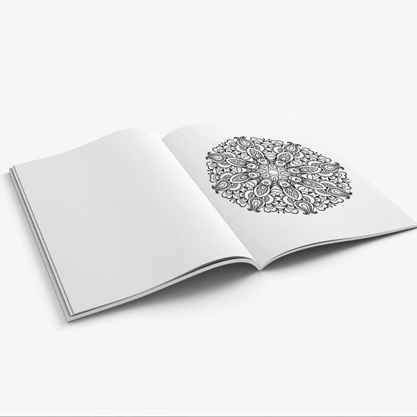 mandala coloring book stress relieving designs vol 1 -9