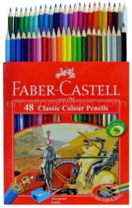 Faber-Castell Colored Pencils for adult coloring_2