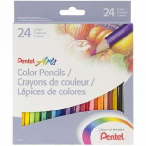 Pentel Arts Colored Pencils adult coloring_2