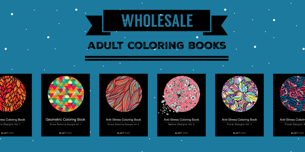 Wholesale adult coloring books - Art Therapy Coloring