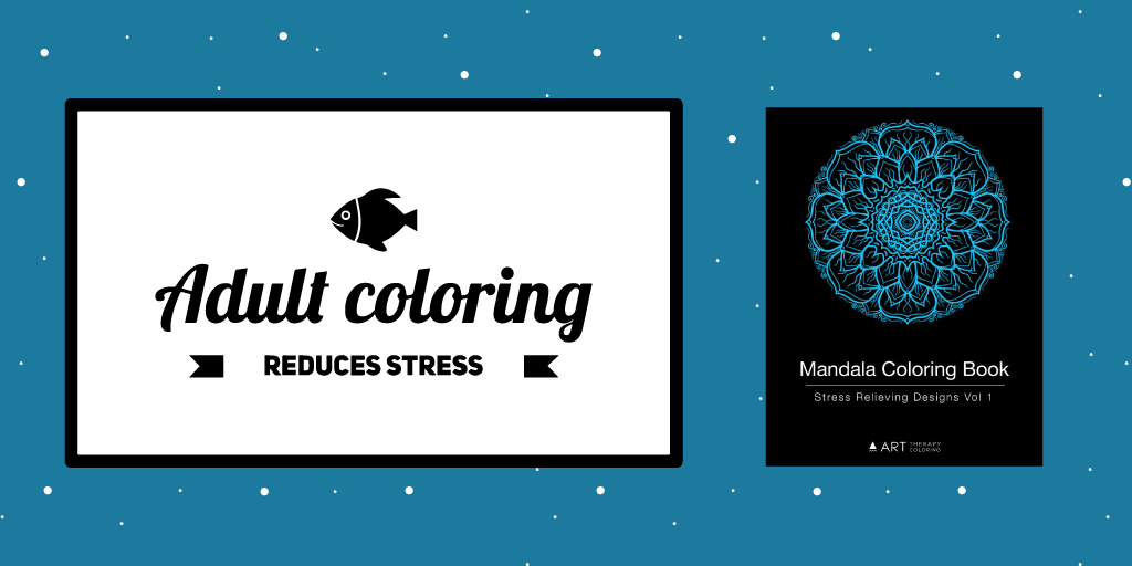 adult coloring reduces stress fb