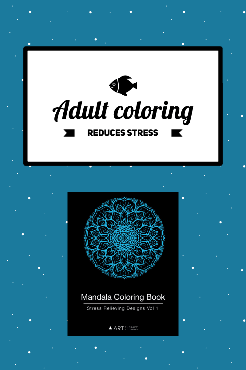 adult coloring reduces stress