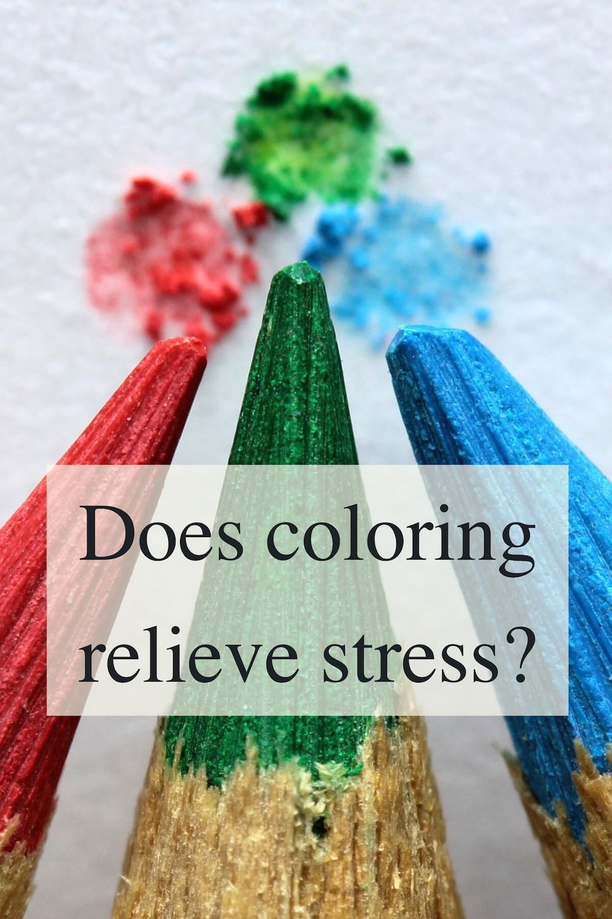 Does Coloring REALLY Relieve Stress?